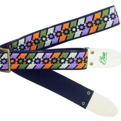 Flower Power Olive/Purple Heavy Nylon