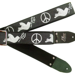 Peace & Dove Black Heavy Nylon