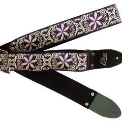 Pinwheel Zinnia Purple Heavy Nylon